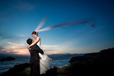 The Cliff House wedding, San Francisco wedding, San Francisco Cliff House wedding, The Cliff House wedding photographers, Huy Pham photography, Nancy Lan and Den Thap wedding, San Francisco wedding photographers