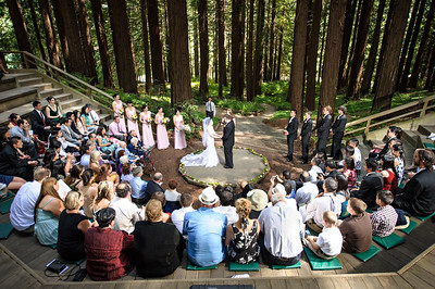 3.Ceremony at Redwood Grove