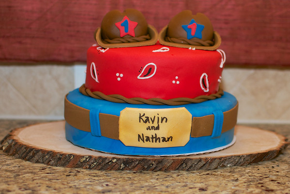 Nathan and Kavin Nair's 1st Birthday