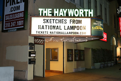 "1302021-002    The world premiere of ""Sketches From The National Lampoon"" at The Hayworth Theatre on Friday, February 15, 2013 in Los Angeles, Calif. (Photo by Ryan Miller/Capture Imaging)"