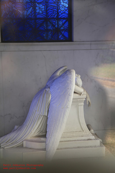 Metairie Cemetery<br /> New Orleans, LA<br /> Chapman H.Hyams Weeping Angel