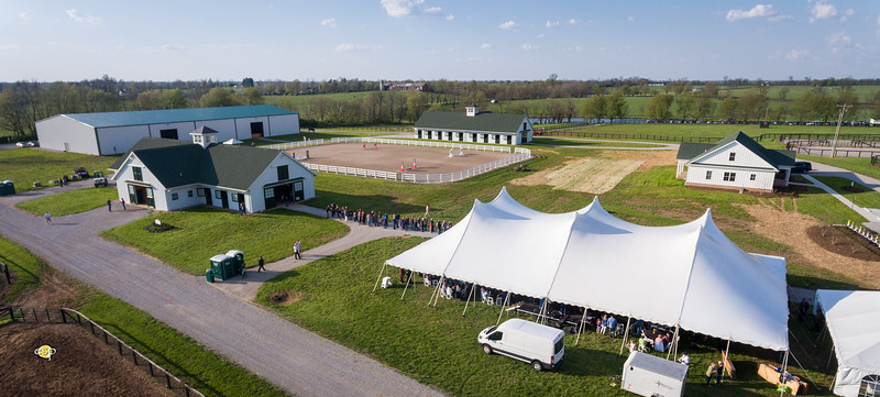 New Vocations Open Barn & BBQ, 4.27.18.