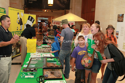 1205163-005    LOS ANGELES, CA - MAY 20:  The 2012 Bug Fair at the Natural History Museum of Los Angeles County on May 20, 2012 in Los Angeles, California. (Photo by Ryan Miller/Capture Imaging)
