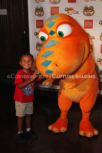 1208198-045     LOS ANGELES, CA - AUGUST 11:  Dinosaur Train Day at the Natural History Museum of Los Angeles County on August 11, 2012 in Los Angeles, California. (Photo by Ryan Miller/Capture Imaging)