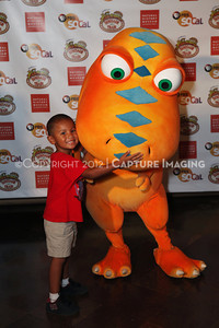 1208198-046     LOS ANGELES, CA - AUGUST 11:  Dinosaur Train Day at the Natural History Museum of Los Angeles County on August 11, 2012 in Los Angeles, California. (Photo by Ryan Miller/Capture Imaging)
