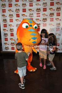 1208198-048     LOS ANGELES, CA - AUGUST 11:  Dinosaur Train Day at the Natural History Museum of Los Angeles County on August 11, 2012 in Los Angeles, California. (Photo by Ryan Miller/Capture Imaging)