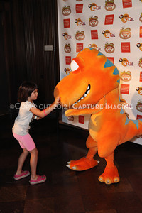1208198-043     LOS ANGELES, CA - AUGUST 11:  Dinosaur Train Day at the Natural History Museum of Los Angeles County on August 11, 2012 in Los Angeles, California. (Photo by Ryan Miller/Capture Imaging)