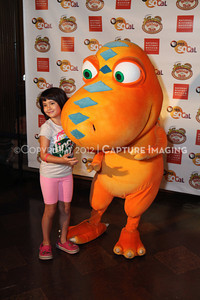 1208198-044     LOS ANGELES, CA - AUGUST 11:  Dinosaur Train Day at the Natural History Museum of Los Angeles County on August 11, 2012 in Los Angeles, California. (Photo by Ryan Miller/Capture Imaging)