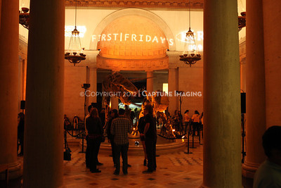 1201001-040        LOS ANGELES, CA - JANUARY 6: The NHM First Fridays event held at the Natural History Museum on January 6, 2012 in Los Angeles, California. (Photo by Ryan Miller/Capture Imaging)