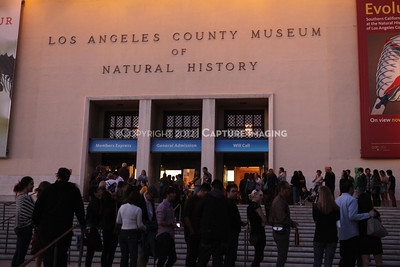 1201001-025        LOS ANGELES, CA - JANUARY 6: The NHM First Fridays event held at the Natural History Museum on January 6, 2012 in Los Angeles, California. (Photo by Ryan Miller/Capture Imaging)