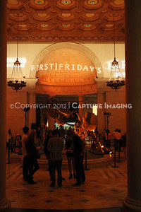 1201001-038        LOS ANGELES, CA - JANUARY 6: The NHM First Fridays event held at the Natural History Museum on January 6, 2012 in Los Angeles, California. (Photo by Ryan Miller/Capture Imaging)