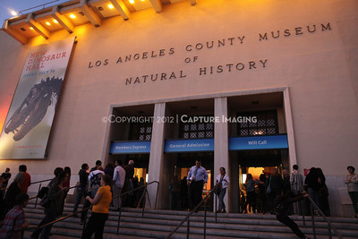 1201001-028        LOS ANGELES, CA - JANUARY 6: The NHM First Fridays event held at the Natural History Museum on January 6, 2012 in Los Angeles, California. (Photo by Ryan Miller/Capture Imaging)