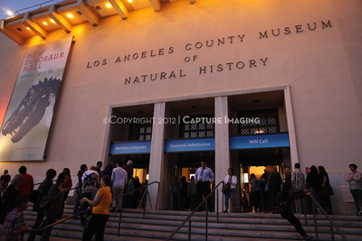 1201001-027        LOS ANGELES, CA - JANUARY 6: The NHM First Fridays event held at the Natural History Museum on January 6, 2012 in Los Angeles, California. (Photo by Ryan Miller/Capture Imaging)