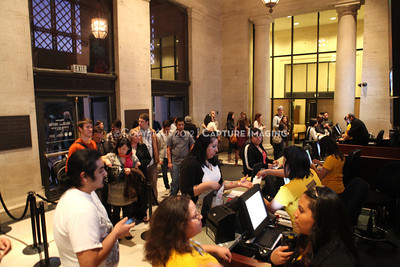 1201001-032        LOS ANGELES, CA - JANUARY 6: The NHM First Fridays event held at the Natural History Museum on January 6, 2012 in Los Angeles, California. (Photo by Ryan Miller/Capture Imaging)