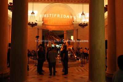 1201001-041        LOS ANGELES, CA - JANUARY 6: The NHM First Fridays event held at the Natural History Museum on January 6, 2012 in Los Angeles, California. (Photo by Ryan Miller/Capture Imaging)