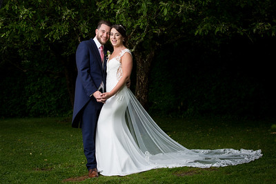 Nicola and Liam's wedding at Old Luxters Barn