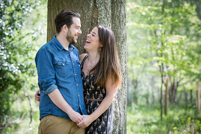 Nicola and Liam engagement shoot