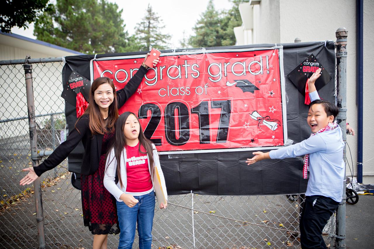 Northwood Elementary school graduation 2017, Huy Pham Photography