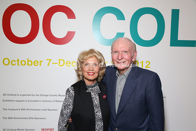 1210230-048    NEWPORT BEACH, CA -  OCTOBER 5: The Orange County Museum of Art 50th anniversary and OC Collects exhibition held at the Orange County Museum of Art on October 5, 2012 in Newport Beach, California. (Photo by Ryan Miller/Capture Imaging)