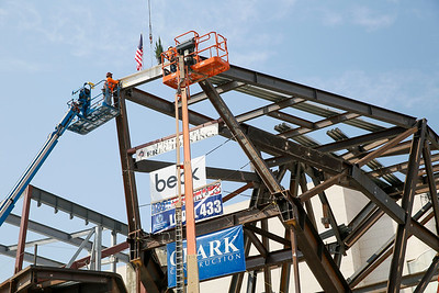 Orange County Museum of Art Topping Out Ceremony