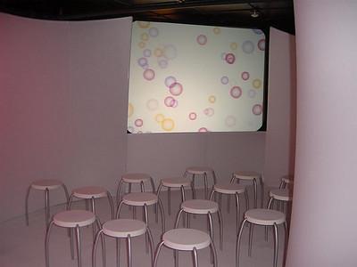 Olay, Custom Stretch Fabric Display w/ Color Lighting