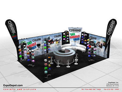 OSBE USA, 20 x 30 Custom Booth