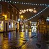 Lichfield UK downtown.