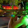 Street musician, downtown Austin TX