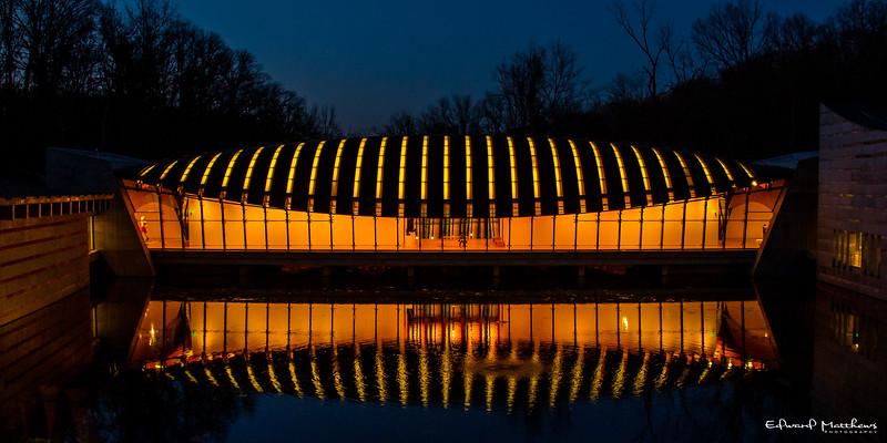 Crystal Bridges museum, Bentonville Arkansas