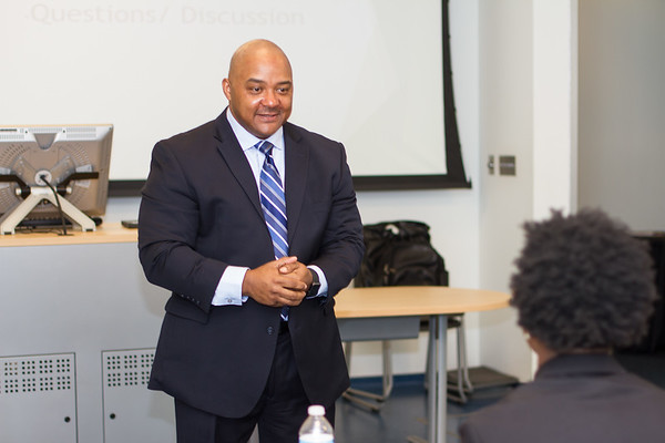 Backpack to Briefcase Panel Interviews and Workshops at Harris Stowe State University 04-08-17