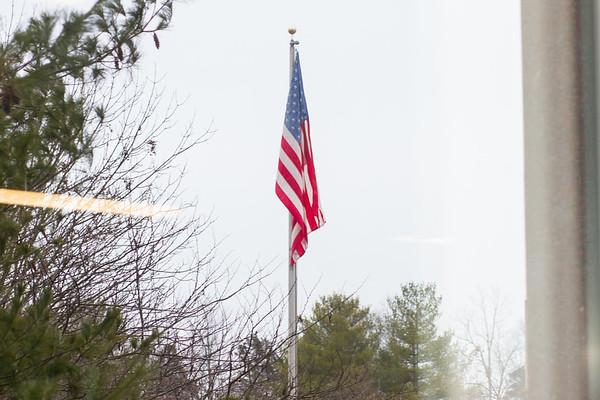 TD Ameritrade PBI Flag Raising Event