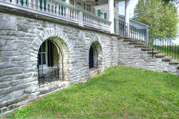 Stocks Manor arch windows
