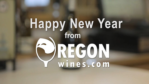 Happy New Year from Oregon Wines
