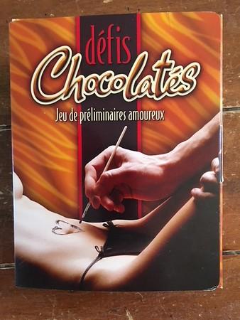 Defis chocolates - actuel front - a refaire