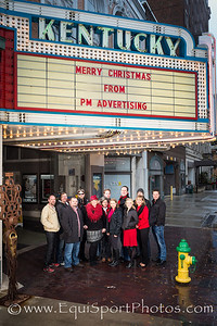 The PM Advertising Team at the Ky. Theater 12.06.13.