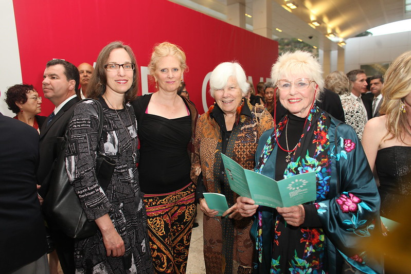1110179-001    LOS ANGELES, CA - OCTOBER 2: The arrivals for the Pacific Standard Time: Art in LA 1945-1980 opening event held at the Getty Center on October 2, 2011 in Los Angeles, California. (Photo by Ryan Miller/Capture Imaging)