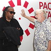 1110179-006    LOS ANGELES, CA - OCTOBER 2: The arrivals for the Pacific Standard Time: Art in LA 1945-1980 opening event held at the Getty Center on October 2, 2011 in Los Angeles, California. (Photo by Ryan Miller/Capture Imaging)
