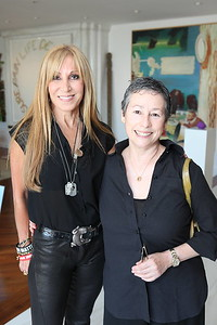 1110174-017    BEVERLY HILLS, CA - OCTOBER 1: A VIP tour of the Rosette Delug art collection at her home on October 1, 2011 in Beverly Hills, California. (Photo by Ryan Miller/Capture Imaging)