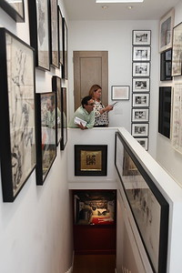 1110174-020    BEVERLY HILLS, CA - OCTOBER 1: A VIP tour of the Rosette Delug art collection at her home on October 1, 2011 in Beverly Hills, California. (Photo by Ryan Miller/Capture Imaging)