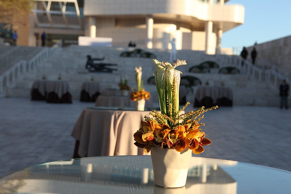 """1110187-010    LOS ANGELES, CA - OCTOBER 2: """"The Moment"""" during the Pacific Standard Time: Art in LA 1945-1980 opening event held at the Getty Center on October 2, 2011 in Los Angeles, California. (Photo by Ryan Miller/Capture Imaging)"""