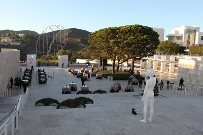 """1110187-002    LOS ANGELES, CA - OCTOBER 2: """"The Moment"""" during the Pacific Standard Time: Art in LA 1945-1980 opening event held at the Getty Center on October 2, 2011 in Los Angeles, California. (Photo by Ryan Miller/Capture Imaging)"""