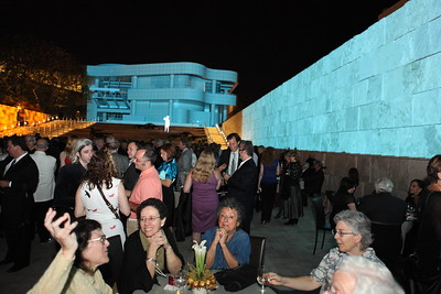 """1110187-038    LOS ANGELES, CA - OCTOBER 2: """"The Moment"""" during the Pacific Standard Time: Art in LA 1945-1980 opening event held at the Getty Center on October 2, 2011 in Los Angeles, California. (Photo by Ryan Miller/Capture Imaging)"""