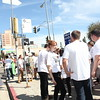 1110184-016    LOS ANGELES, CA - OCTOBER 2: The Trespass Parade at MOCA during the Pacific Standard Time: Art in LA 1945-1980 free day activities at the Los Angeles County Museum of Art on October 2, 2011 in Los Angeles, California. (Photo by Ryan Miller/Capture Imaging)