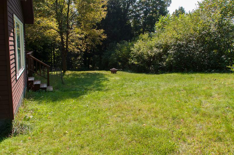 Exterior Back yard