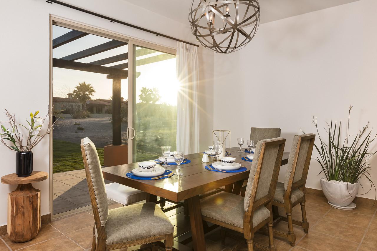LaPaz-Paraiso_Residence-3BR_Villa-Dining_Room-4786