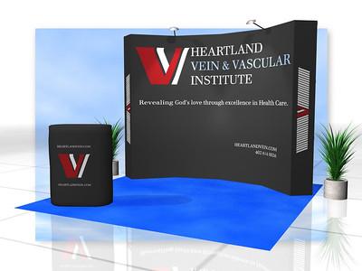 Paramount - Vein & Vascular, 4x3 Burst Curve Rendering   http://expodepot.com/burst-displays-c-365.html