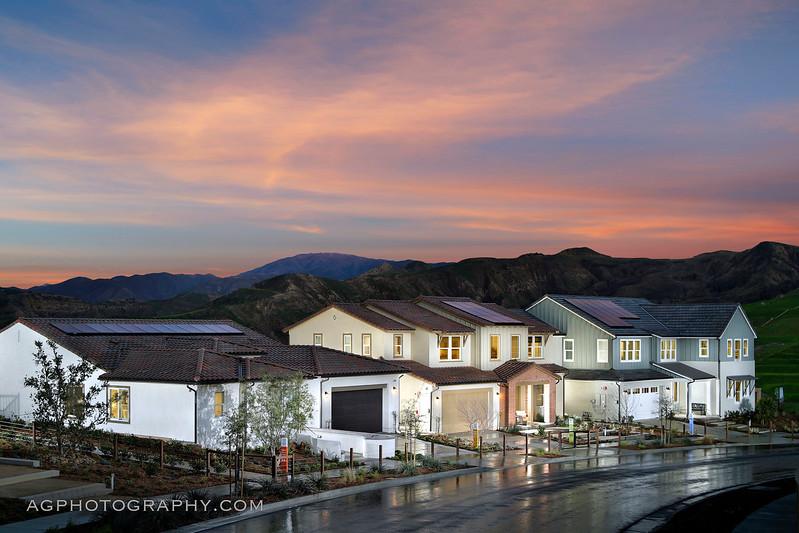 Arista at Aliento by Pardee Homes, Santa Clarita, CA, 2/25/17.