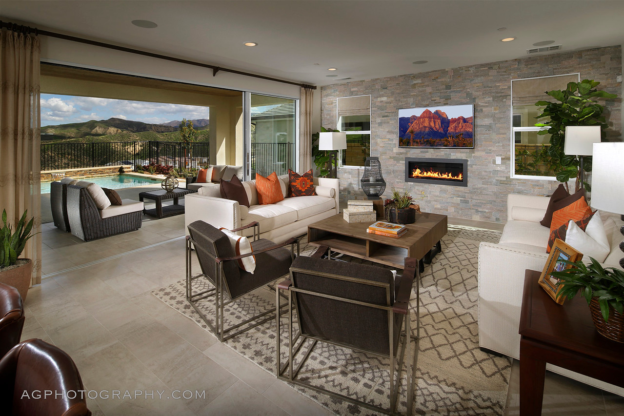 Arista at Aliento by Pardee Homes, Santa Clarita, CA, 2/25/17.