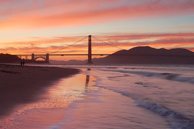 Autumn Evening, Golden Gate