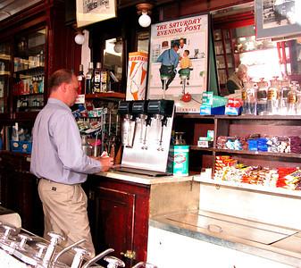 Delekta Old Time Pharmacy.  © Seymour Glantz